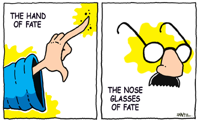 The Nose Glasses of Fate